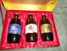 Rainier bottles
